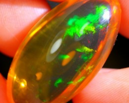 21.45Ct Green Color Play Ethiopian Welo Specimen Crystal Opal
