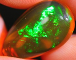 8.11Ct Greenish Flash Ethiopian Welo Specimen Crystal Opal