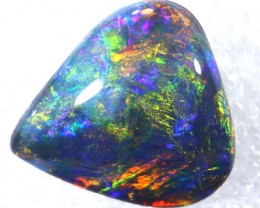 N4  6.40 CTS QUALITY BLACK SOLID OPAL LIGHTNINGRIDGE JJ-33