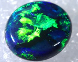 N1  2.16 CTS QUALITY BLACK SOLID OPAL LIGHTNINGRIDGE INV-856 GC