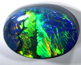 N1  3.69  CTS QUALITY BLACK SOLID OPAL LIGHTNINGRIDGE INV-866 GC T-90
