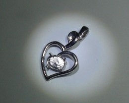 3.06 Grams Full polished 925 Silver Pendant Setting *