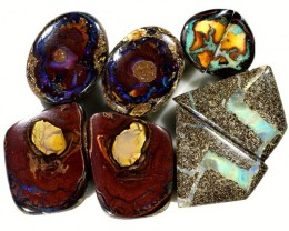 119.00 CTS YOWAH PAIR PARCEL DEAL-POLISHED [SO9405]