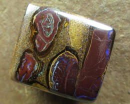 "59cts.""BOULDER MATRIX OPAL~NO MIDDLE MAN"""
