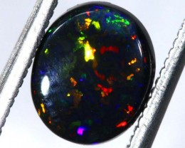 N1  1.39CTS QUALITY BLACK SOLID OPAL LIGHTNINGRIDGE INV-868