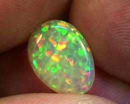 2.25 cts Ethiopian Welo HONEYCOMB opal N7 4,5/5