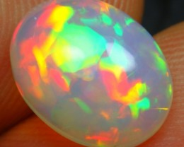 1.95cts Exquisite 5/5 Rainbow Fire Ethiopian Opal
