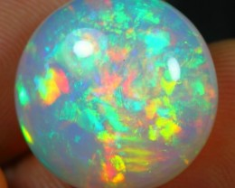 12.85cts STUNNING RAINBOW FIRE Natural Untreated Ethiopian Welo Opal