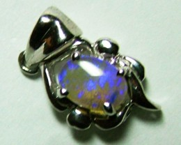 5CTS SOLID OPAL PENDANT/925 SILVER   OF-2037