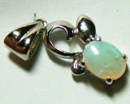 4 CTS SOLID OPAL PENDANT/925 SILVER OF-2038