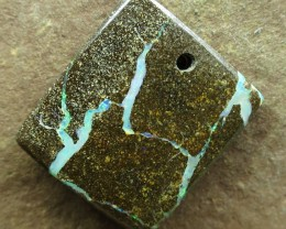 "20cts.""BOULDER OPAL~FACE DRILLED"""