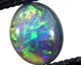 N5- 0.65CTS BLACK OPAL POLISHED STONE TBO-7476