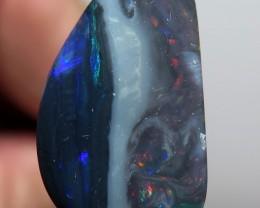 5.87Ct Lightning Ridge Black Opal stone