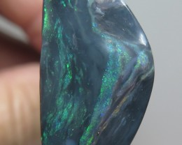 18.82Ct Lightning Ridge Black Opal stone