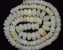 45.05 Ct Natural Ethiopian Welo Opal Beads Play Of Color