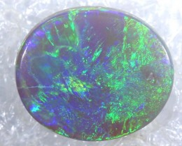 N-5 - 1.1CTS BLACK OPAL POLISHED STONE TBO-7500