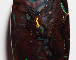 36.35 CT VIEW DOUBLE SIDED KOROIT BOULDER OPAL   SS05