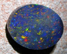5.48 CTS DOUBLE SIDED BLACK OPAL -N3 SAFE [Q925 ]RRP$4000 WB