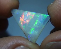 3.25 ct Beautiful Gem Multi Color Solid Boulder Opal Rough Rub