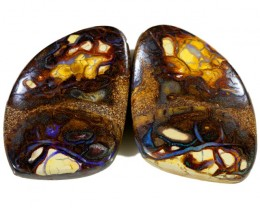 99.75 CTS BOULDER OPAL PAIR  [SO9411]