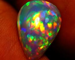 3.06 CT 5/5 Brightness Rare Dark Ethiopian Welo Opal