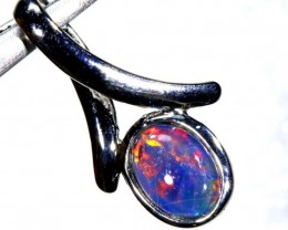 4.25CTS SILVER TRIPLET OPAL PENDANT OF-2055