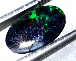 N-1 - 2.07CTS BLACK OPAL POLISHED STONE TBO-7509