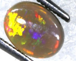 N-4 - 0.88CTS BLACK OPAL POLISHED STONE TBO-7514
