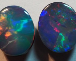 3.20CT GEM QUALITY BLACK OPAL DOUBLET  TO1
