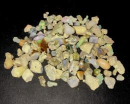 178ct Multi Color Ethiopian Welo Opal Rough Parcel Lot