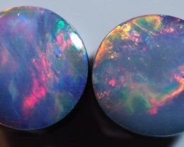 1.80CT GEM QUALITY BLACK OPAL DOUBLET  TO6