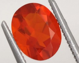 1.3CTS MEXICAN FIRE OPAL  STONE FOB-1146