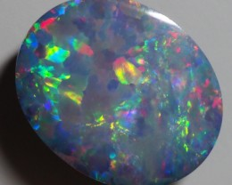2.55CT GEM QUALITY BLACK OPAL DOUBLET  TO31