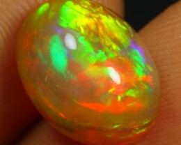 4.10cts Top 5/5 Neon Gold and Green Fire Ethiopian Opal