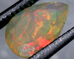 0.9CTS ETHIOPIAN WELO FACETED OPAL STONE FOB-1161