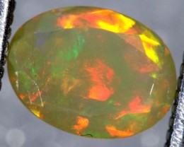 0.8CTS ETHIOPIAN WELO FACETED OPAL STONE FOB-1162