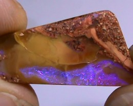 11.65 ct Boulder Opal Natural Purple Color