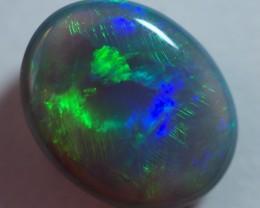 1.35CT LIGHTNING OPALS BLACK OPAL  SS01641