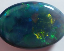 3.50CT LIGHTNING OPALS BLACK OPAL  SS01642