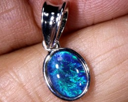 4.8 CTS SILVER TRIPLET OPAL PENDANT OF-2087