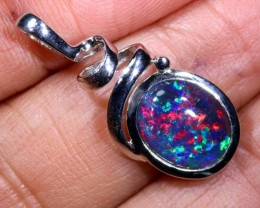 6.7 CTS SILVER TRIPLET OPAL PENDANT OF-2094