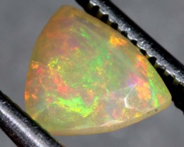 0.9 CTS ETHIOPIAN WELO FACETED OPAL STONE FOB-1169