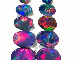 5.96 CTS OPAL DOUBLET PARCEL SET [SO9497]safe