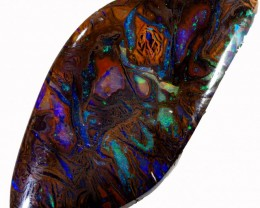 14.65 CTS WELL POLISHED BOULDER OPAL STONE [BMS250]