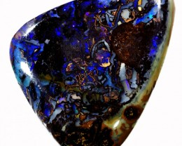 29.60 CTS WELL POLISHED BOULDER OPAL STONE [BMS252]