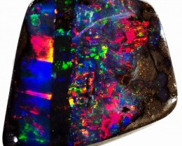 7.25 CTS WELL POLISHED BOULDER OPAL STONE [BMS257]