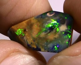7.40 ct Beautiful Gem Blue Green Natural Queensland Boulder Opal
