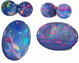 4.68 CTS OPAL DOUBLET PARCEL SET [SO9505]safe