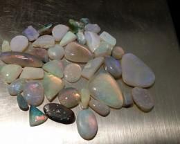 65.20cts lightning ridge opal rub parcel