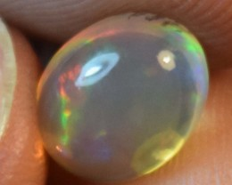 1.85 Cts Ethiopian Welo Fire Opal Cabochon Natural No Reserve